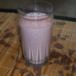 Strawberry Almond Milk Shake