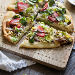 Strawberry and Veggie Flatbread