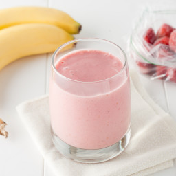 Strawberry & Banana Smoothies