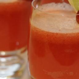 Strawberry Beer Margaritas