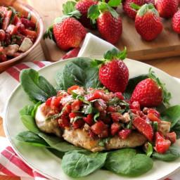 Strawberry Bruschetta Chicken