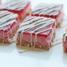 Strawberry Cherry Coconut Ice Bar