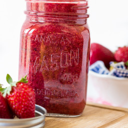 Strawberry Chia Seed Jam - Super Easy Sunday