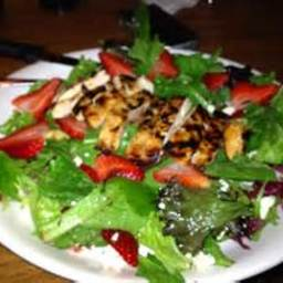 Strawberry & Chicken Salad w/Poppyseed Dressing