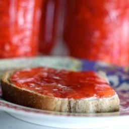 Strawberry-Coconut Freezer Jam