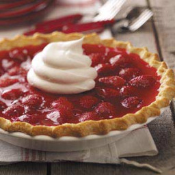 Strawberry Custard Pies Recipe