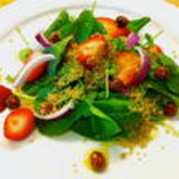 Strawberry Greens Salad