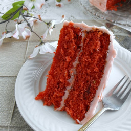 Strawberry Jell-O Cake