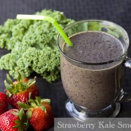 Strawberry Kale Smoothie
