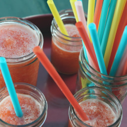Strawberry Lemonade Slushes