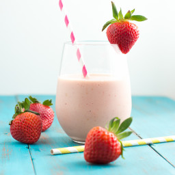 Strawberry Malt Smoothie