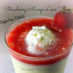 Strawberry Mango Lava Flow