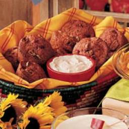 Strawberry Muffins with Cinnamon-Honey Spread Recipe