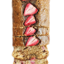 Strawberry Oatmeal Banana Bread