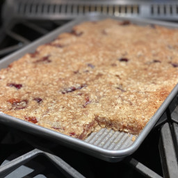 Strawberry Oatmeal Bars by Pioneer Woman