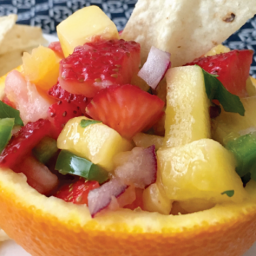 Strawberry Pineapple Mango Salsa