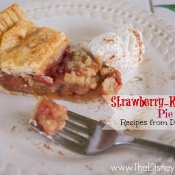 Strawberry-Rhubarb Pie - Flo's V8 Cafe