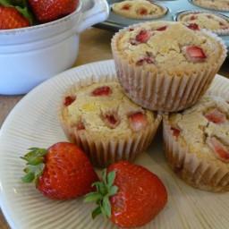 Strawberry Shortcake Muffins (GF, DF Option)