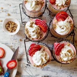 Strawberry Smoothie Parfait