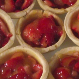 strawberry tarts | BigOven