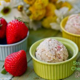 Strawberry Cheesecake Ice Cream
