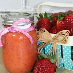 Strawberry Fruit Vinaigrette Dressing Recipe
