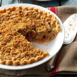 Strawberry/Rhubarb Crumb Pie Recipe