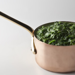 Strip Houses Creamed Spinach