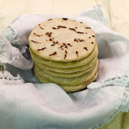 Stuffed Corn Tortillas (Pupusas) Recipe