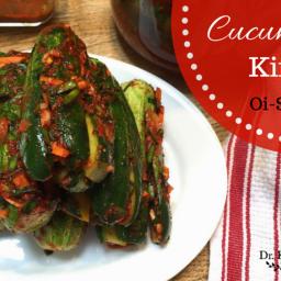 Stuffed Cucumber Kimchi (Oi-So-Bagi)