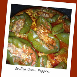 Stuffed Green Peppers - Instant Pot