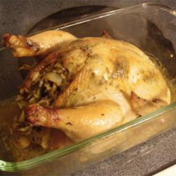 Stuffed Roasted Hens
