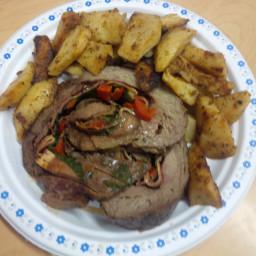 Stuffed Steak Pinwheel