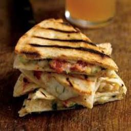 Stuffed Tortilla Wedges