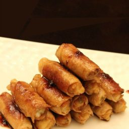 Stuffed Teriyaki Pork Rolls
