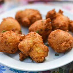 Stuffing Fritters