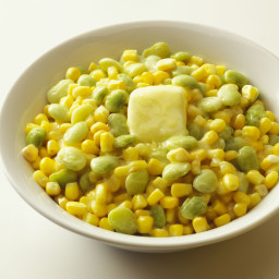 Succotash with Fresh Lima Beans and Corn
