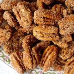 sugar-coated pecans