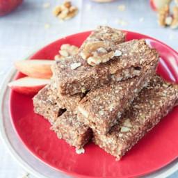 Sugar Free Apple Pie Bars