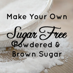 "Sugar-Free Brown ""Sugar"" Recipe"