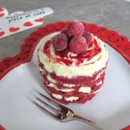 SUGAR FREE KETO RED VELVET WAFFLE CAKE