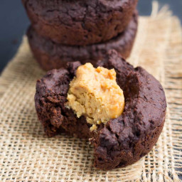 Sugar-Free Peanut Butter Quinoa Brownies