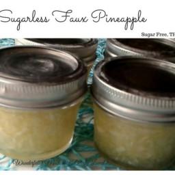 Sugarless Faux Pineapple