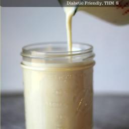 Sugarless Sweetened Condensed Milk