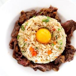 Sukiyaki Beef Fried Rice