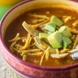 Summer Celebration Tortilla Soup