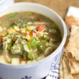 Summer Chicken and Vegetable Soup