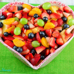 Summer Fresh Honey Lime Fruit Salad
