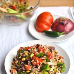 Summer Healthy Grain Salad