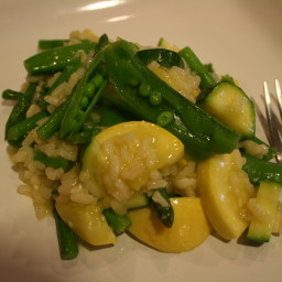 Summer Lemon-Vegetable Risotto